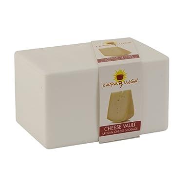 Capabunga CV3 Cheese Vault Food Storage Box One Size White