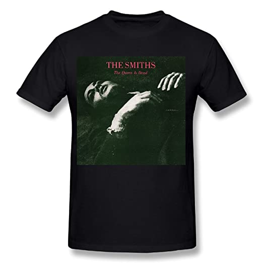 9047cf12 Amazon.com: Adeapa Men's T-Shirt The Smiths The Queen Is Dead Short Sleeve:  Clothing