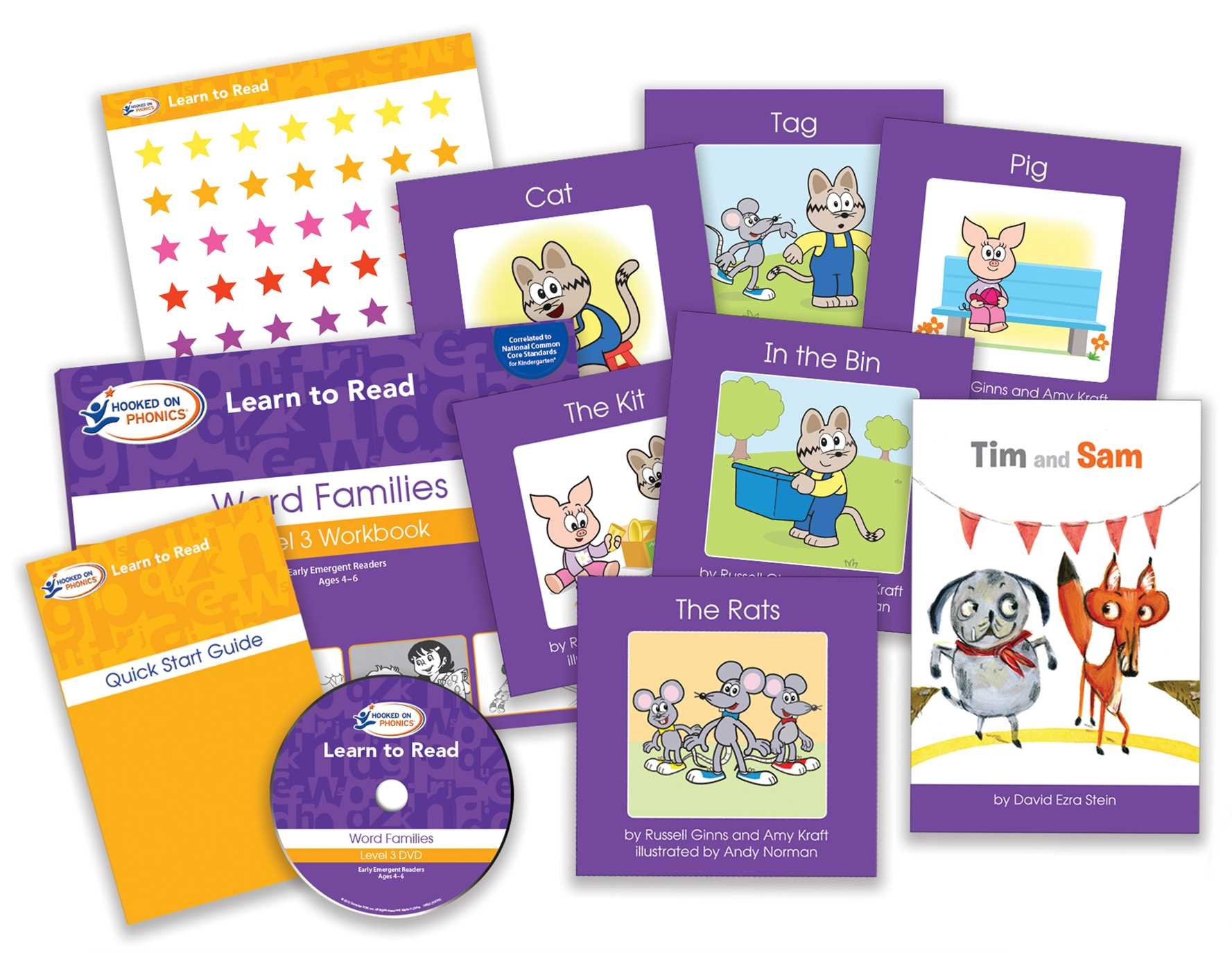 Learn to Read Kindergarten Level 1 by Hooked On Phonics (Image #3)