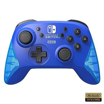Amazon | 【任天堂ライセンス商品】ワイヤレスホリパッド for Nintendo Switch ブルー【Nintendo Switch対応】 | ゲーム