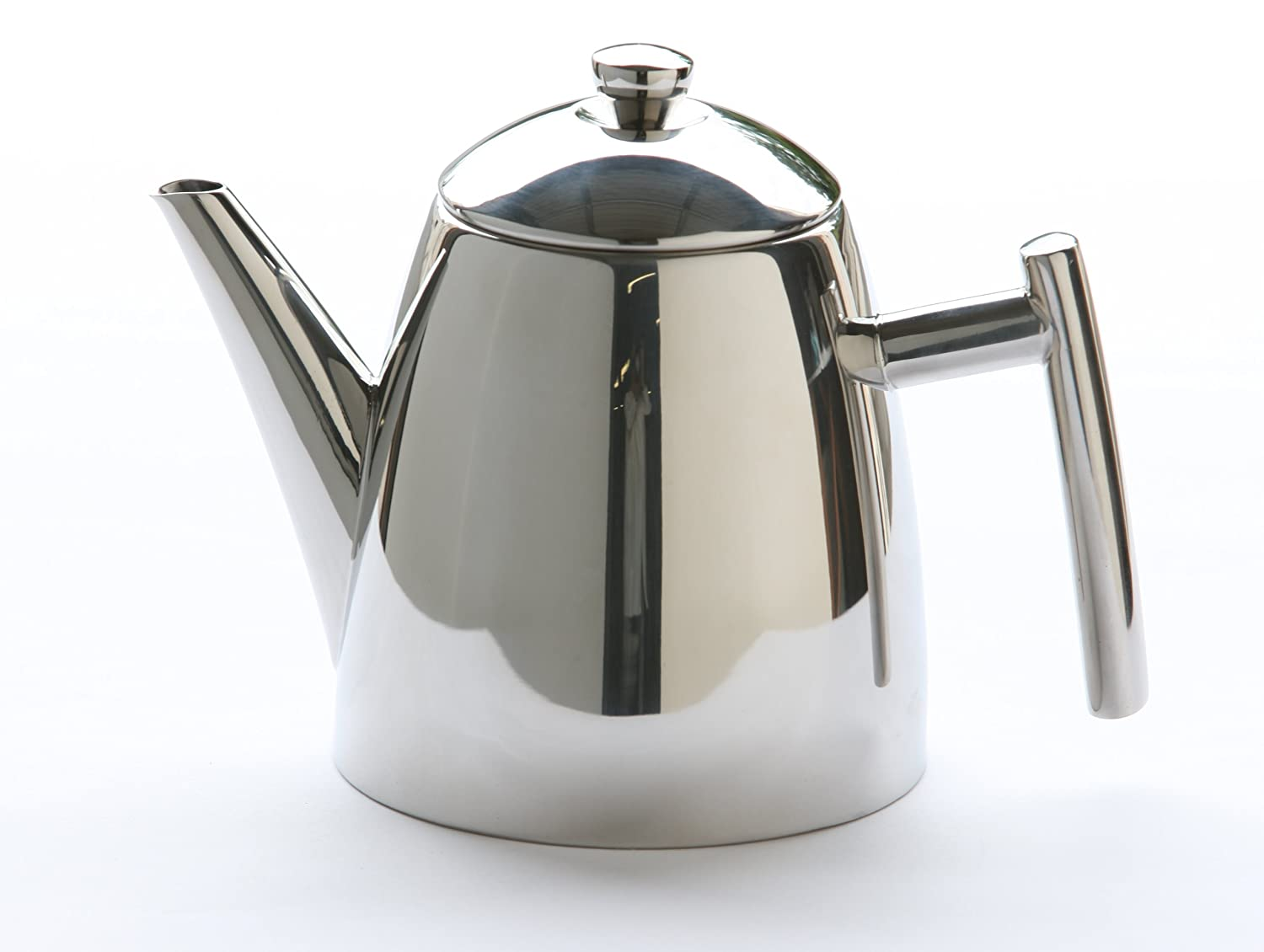 frieling  stainless steel primo teapot with infuser ounce  - frieling  stainless steel primo teapot with infuser ounceamazonca home  kitchen