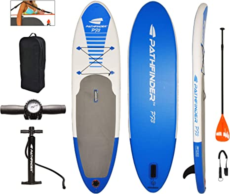 Amazon.com: Tabla de surf de remo Pathfinder SUP, en ...