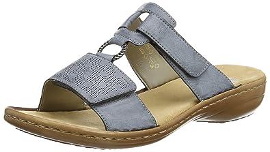 Rieker Damen 60885 Pantoletten  Rieker  Amazon.de  Schuhe   Handtaschen 009c47bd92