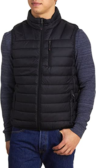 Hawke /& Co Sport Performance Lightweight Packable Quilted Puffer Vest