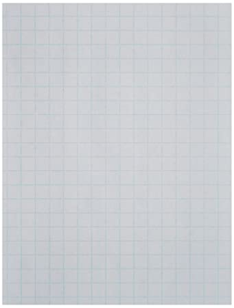 Amazon.com : School Smart Double Sided Graph Paper with 1/2 in ...