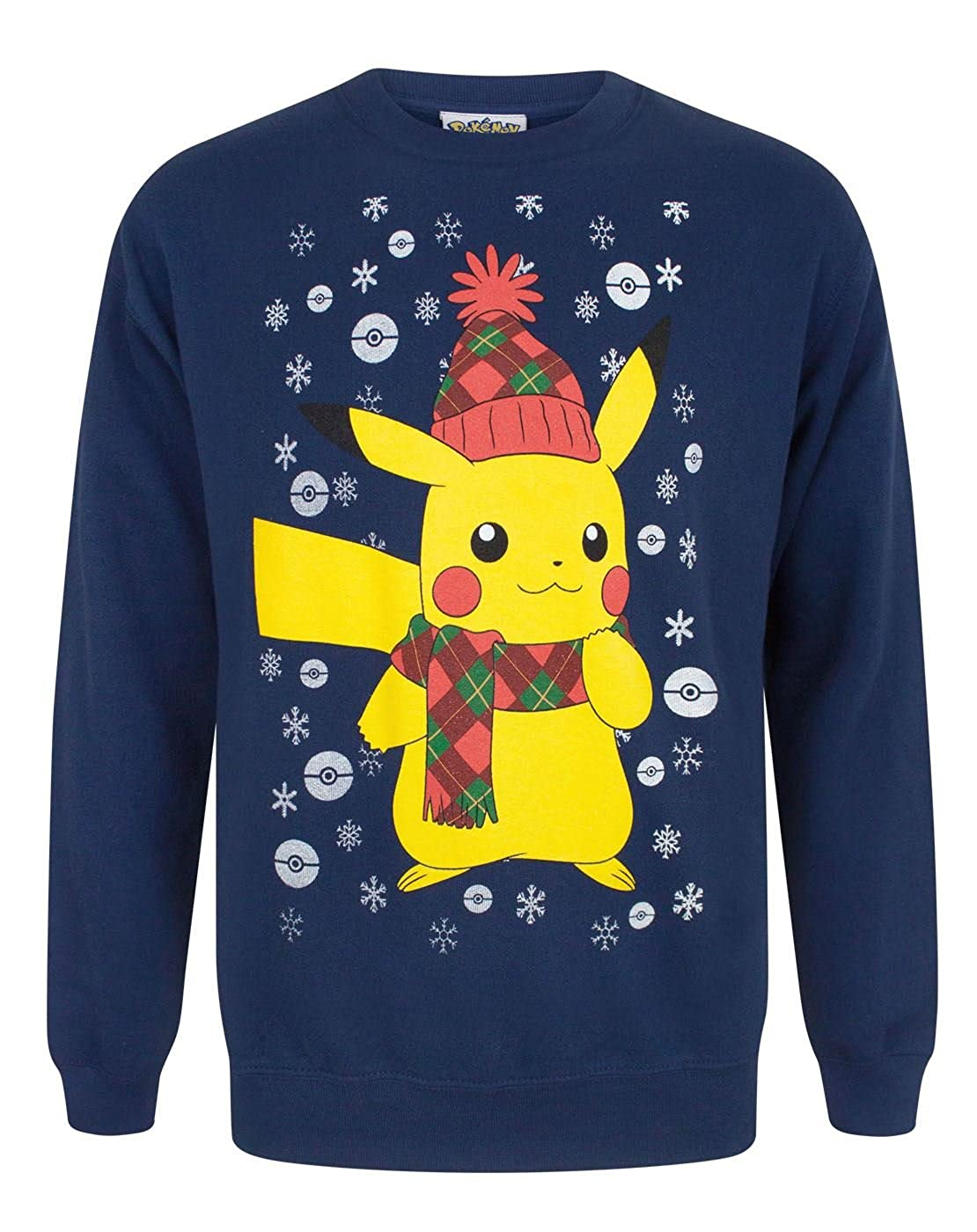 Vanilla Underground Pokemon Pikachu Men's Christmas Sweatshirt Fashion UK