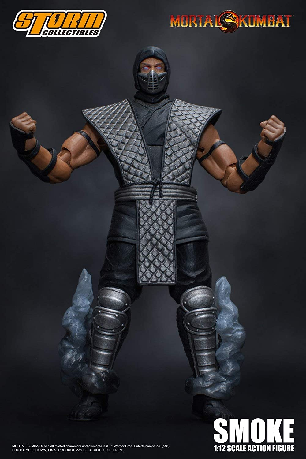 Storm Collectibles Mortal Kombat Smoke Figure NYCC 2018 Exclusive USA IN STOCK