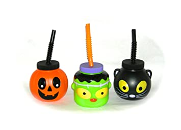 halloween fun sippy cup