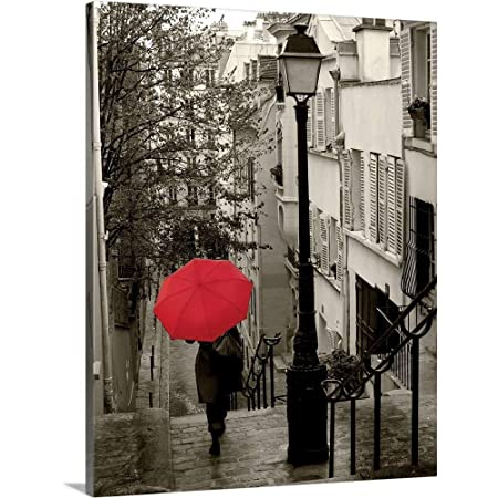 Paris Stroll II Canvas Wall Art Print, 16 x20 x1.25