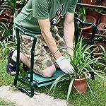 Novinex Folding Gardening Seat and Kneeler With Soft Eva Pad Seat