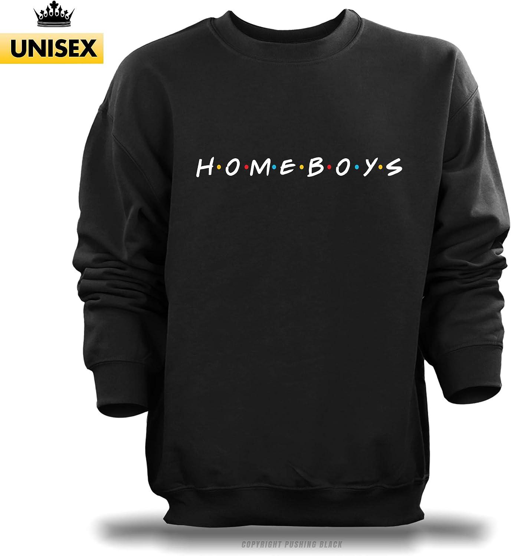 PUSHING BLACK HOMEBOYS Unisex Sweatshirt