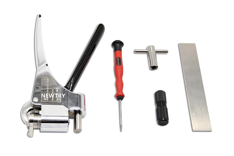 NEWTRY Webster Hardness Tester W-20 for Aluminum Alloy Range 0-20hw