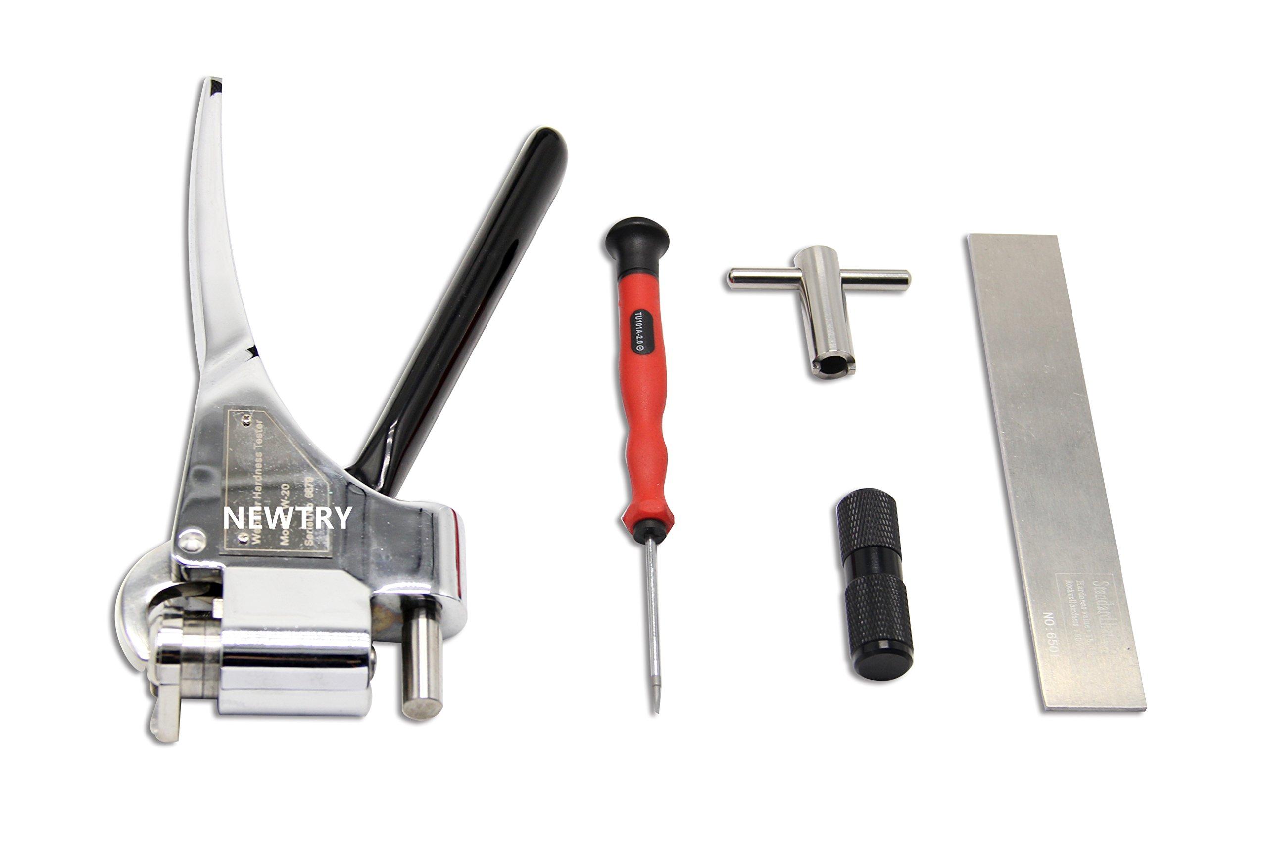 Webster Hardness Tester W-20 for Aluminum Alloy Range 0-20hw by Newtry (Image #2)