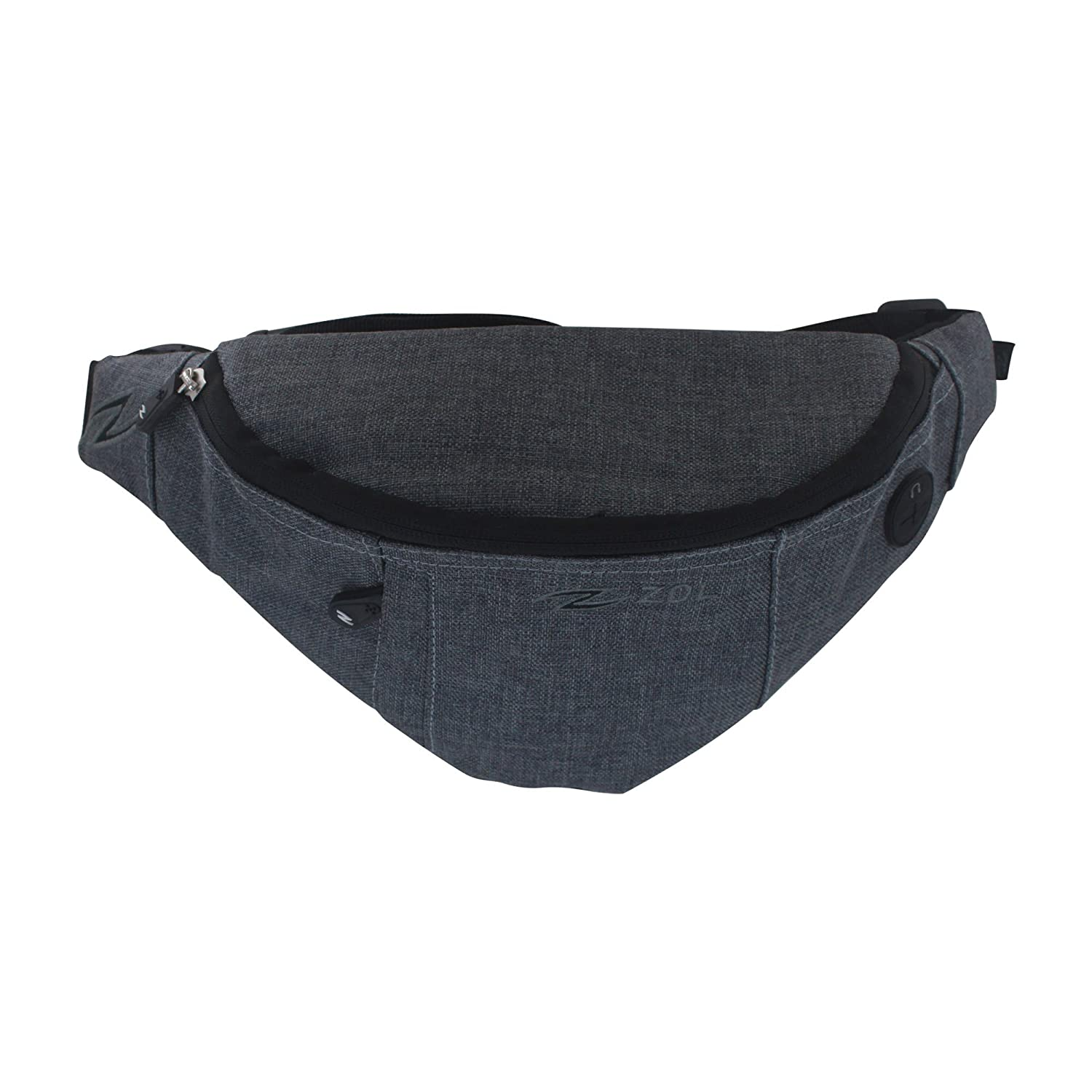 11f42c112b9 Amazon.com   Zol Original Sport and Travel Fashion Fanny Pack Men Women Waist  Bag 3 Pockets   Sports   Outdoors