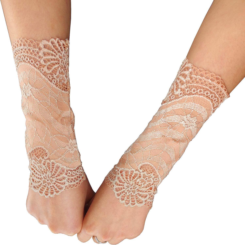 CALANTA Women Lace Wrist...