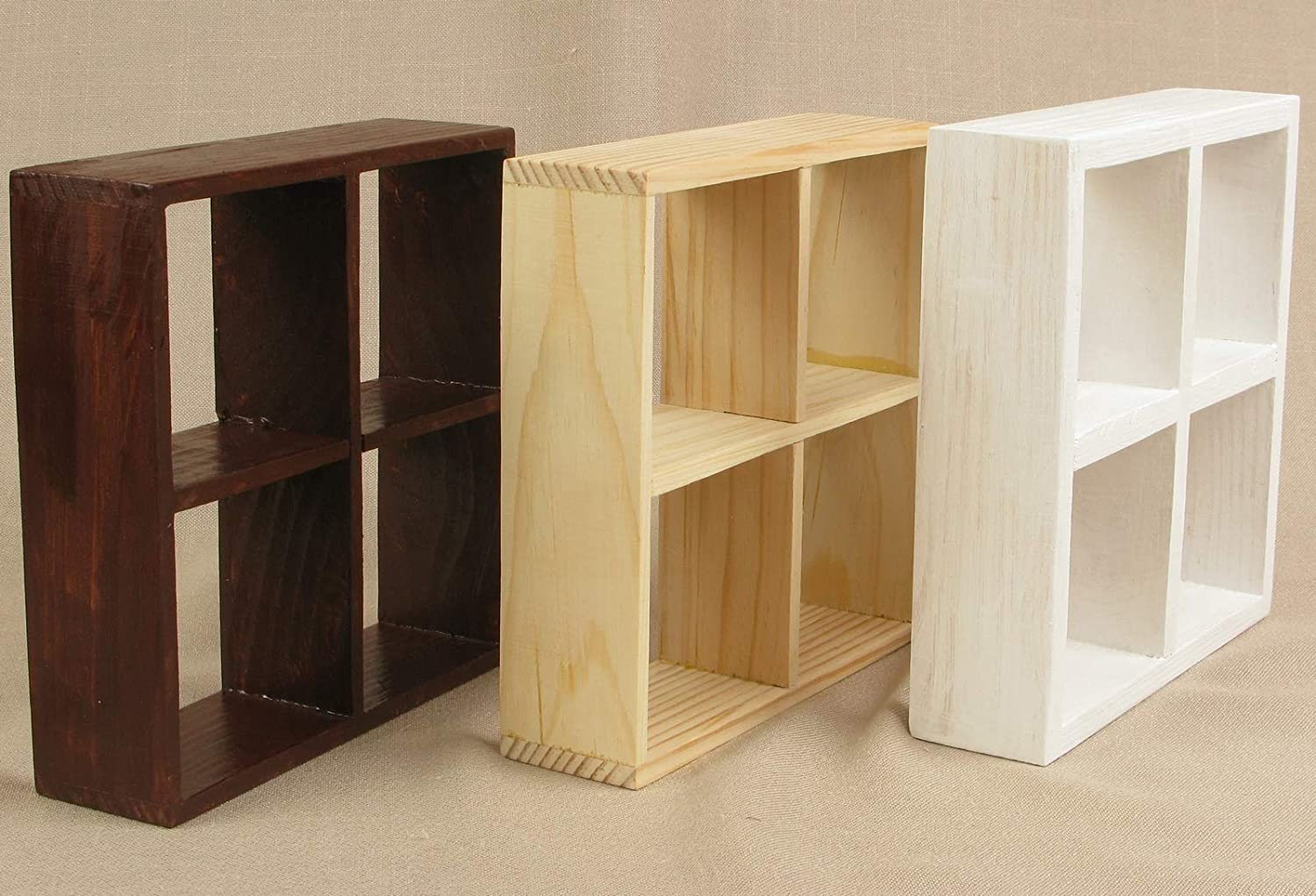 1//6 scale doll house shelve units white {2}  pcs