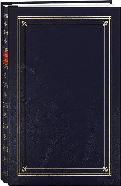 Pioneer Bi-Directional Post Style Memo Pocket Album Navy Blue