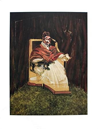 Francis Bacon-Portrait of Pope Innocent XII-1995 Poster