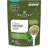 Navitas Organics Hemp Seeds, 3 oz. Bag — Organic, Non-GMO, Low Temp-Hulled, Gluten-Free