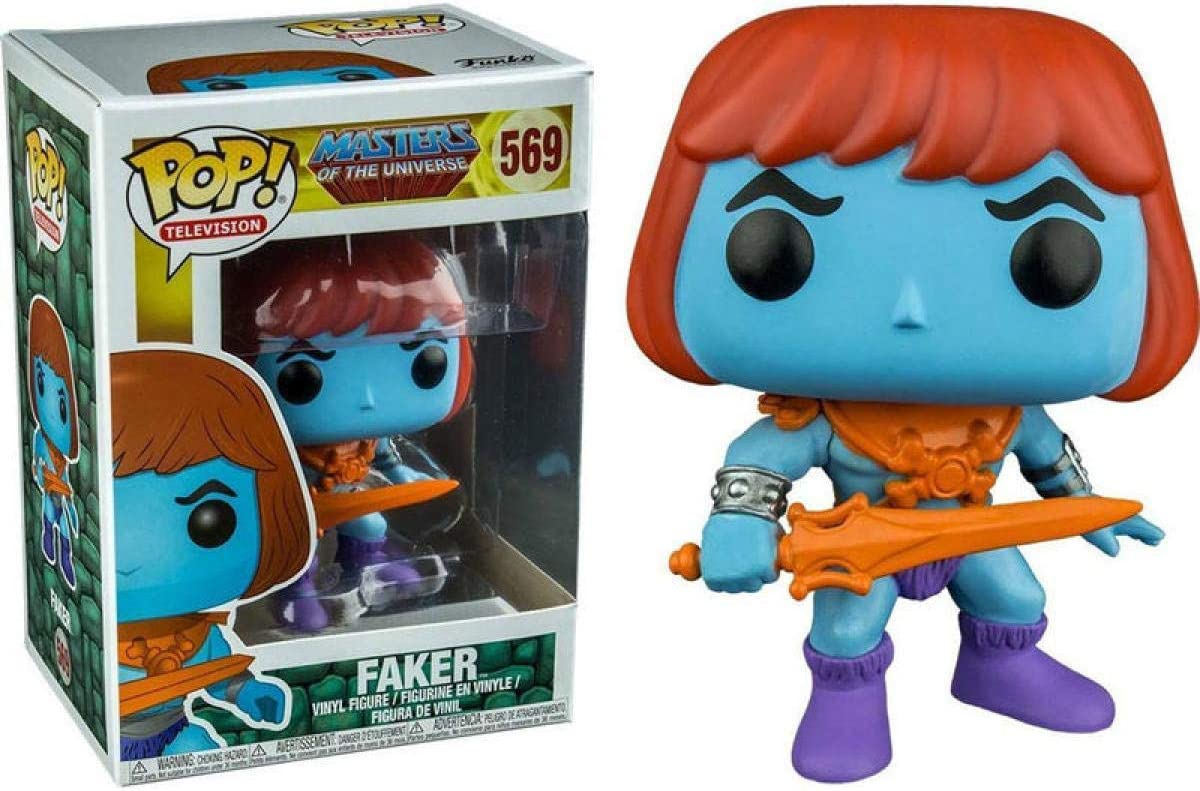 Masters Of The Universe Funko POP Faker #569