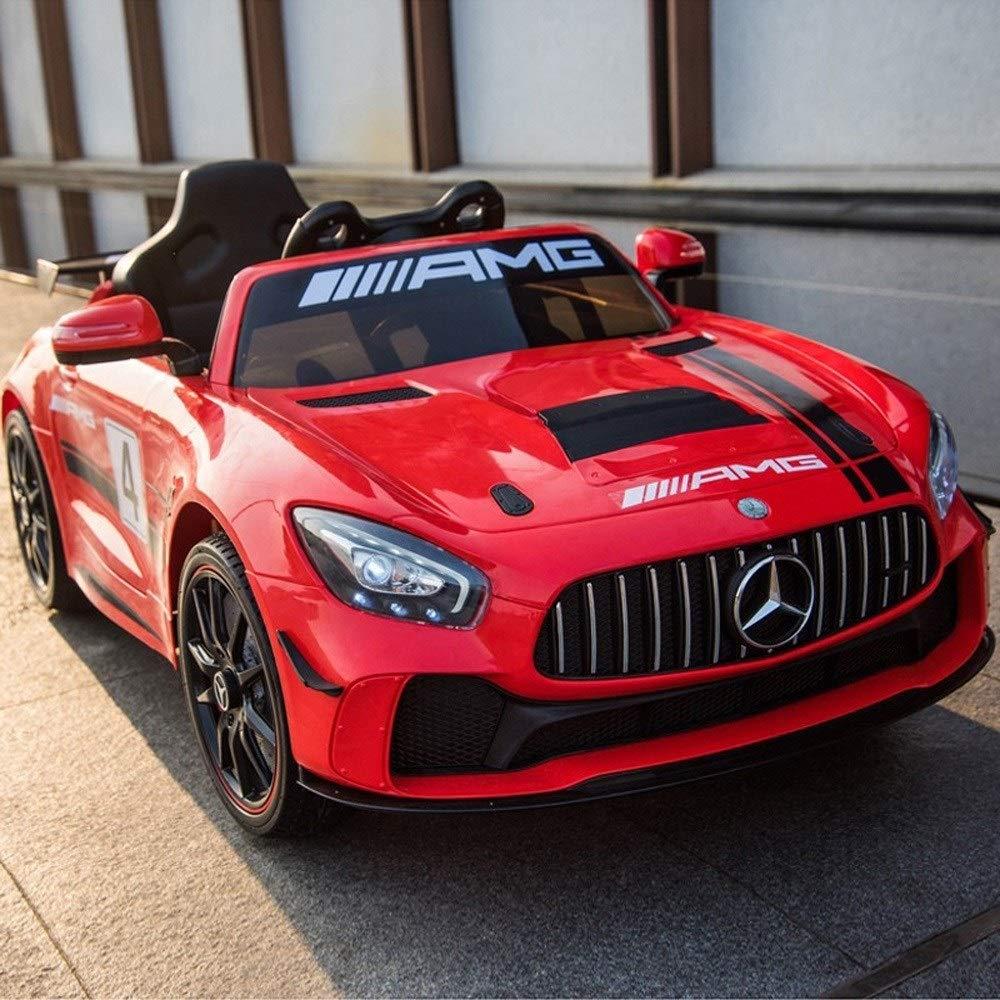 Ycco Kinder Drahtlose Fernbedienung Racing Kids Coupé Style Fahrt auf Auto mit Led-leuchten Musik Parental Fernbedienung Fahrzeug Für Kinder Jungen und Mädchen Beste Geschenk (Farbe   B-2)
