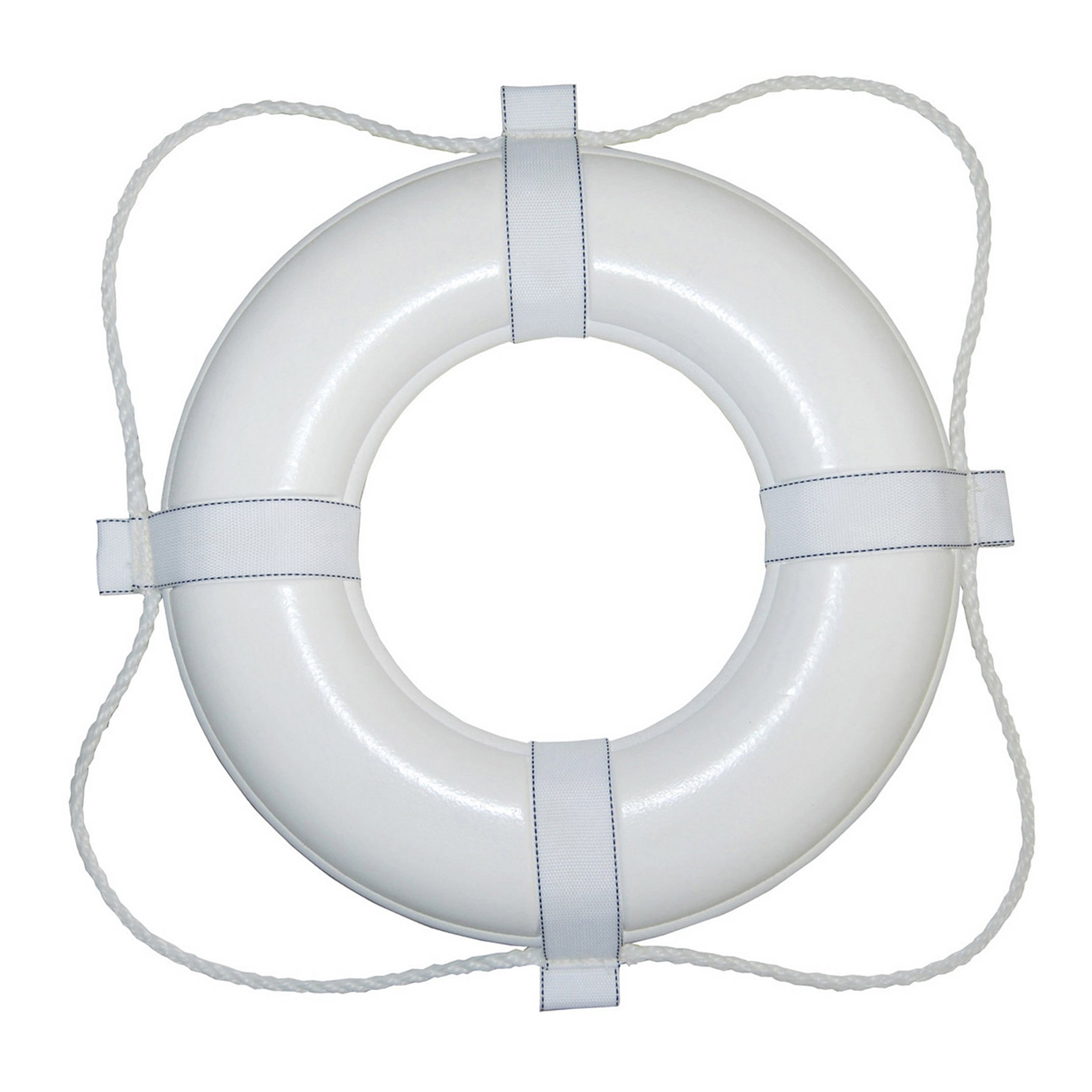 Taylor Made Products 365 USCG Approved Foam Life Ring (20'', White)