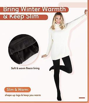 Winter Warm Slim Plain Stirrup Footless Leggings Stretch Soft Casual Yoga Sport