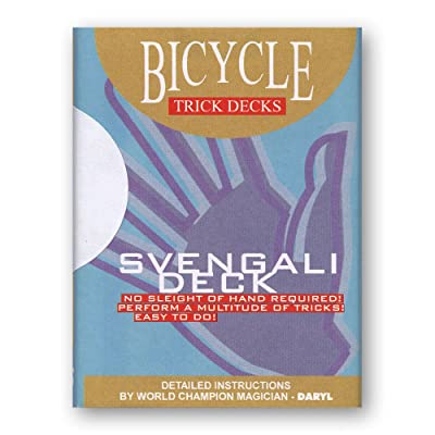 Murphy's Magic Svengali Deck Bicycle (Red) - Trick: Toys & Games
