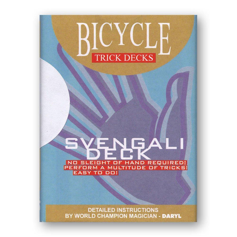 Amazon.com: Svengali Deck bicicleta (rojo) – truco: Toys & Games