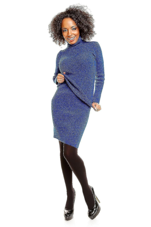 JU FASHION (blau) Strickkleid 2-teilig MELA One Size (34-38): Amazon.de:  Bekleidung
