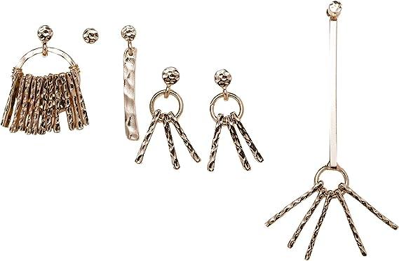 Zara - Pack Pendientes Variados, Talla M: Amazon.es: Ropa y accesorios