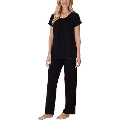 fa7d7d8a03 Carole Hochman Midnight 2-piece Scoop Neck Pajama Set (Small