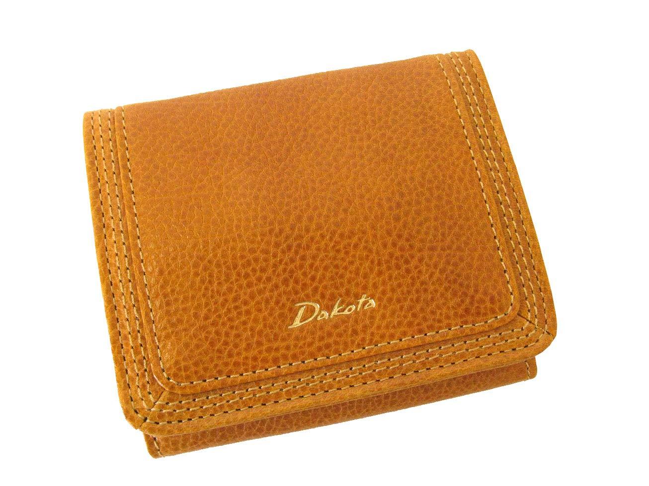 (ダコタ) Dakota クエロ 四方口小銭入れの二つ折り財布 0036180 B07GDDM8H2 マスタード マスタード