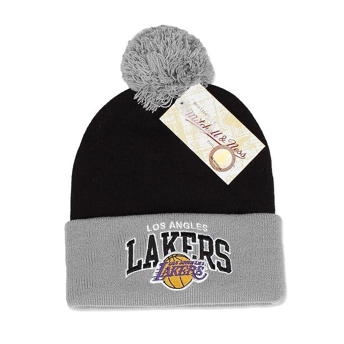 Mitchell   Ness NBA NHL Teams Gorro de invierno Los Angeles Lakers talla  única 40d0a0c005b