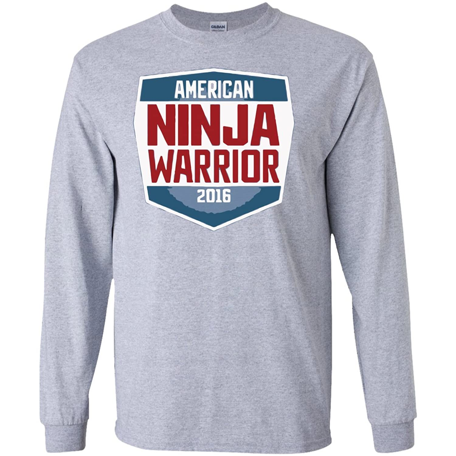 American Ninja Warrior 2016 Long Sleeves Tshirt