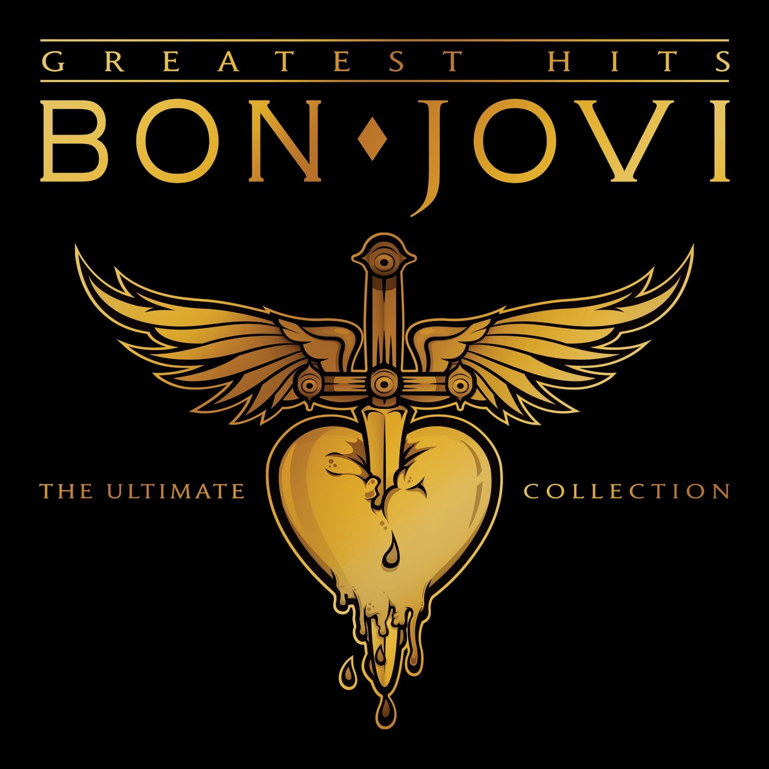 CD : Bon Jovi - Bon Jovi Greatest Hits [The Ultimate Collection] (Deluxe Edition, 2 Disc)