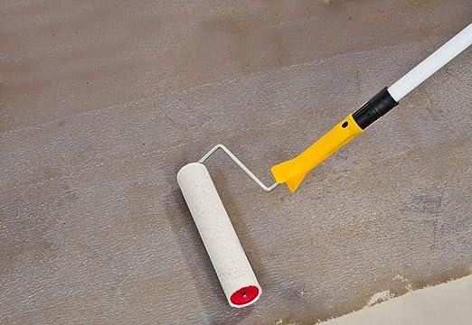 Fußboden Quarzsand ~ 1 5kg 2k epoxidharz bodenbeschichtung farblos für ca. 15qm in