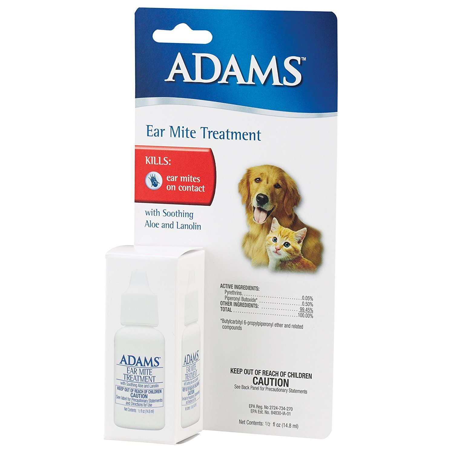 Adams Ear Mite Treatment .5oz