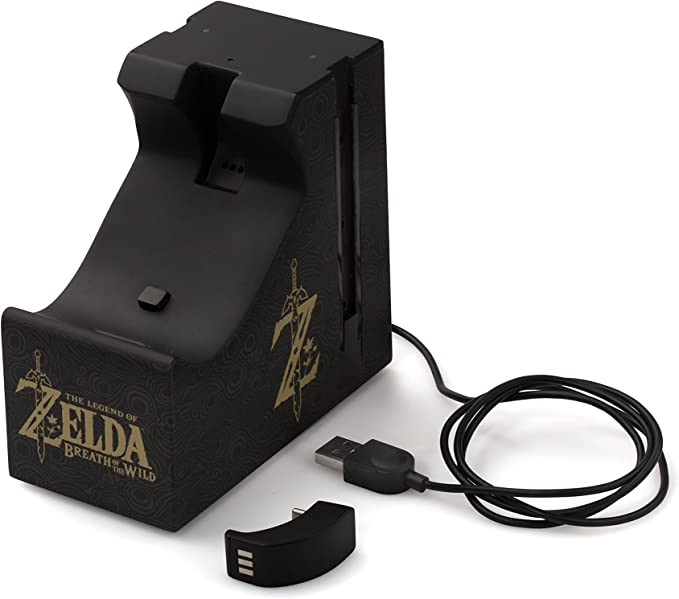 Power A - Pro Controller Charger Plus Zelda (Nintendo Switch ...
