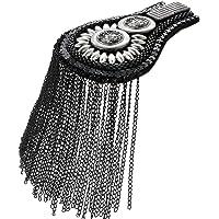 Haptian Tablero del Hombro Borla de Metal Vintage Cadena Exquisita Pasarela Joyería Decoración Artesanía Hecha a Mano…