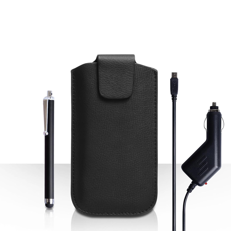 Yousave Accessories carcasa para LG G3 S negro Lichee ...