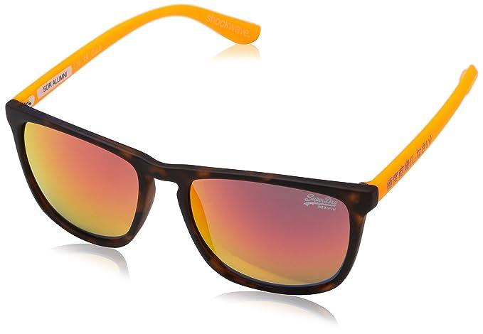 Superdry Alumni Gafas de Sol, Multicolor (Matte Camo/Fluro ...