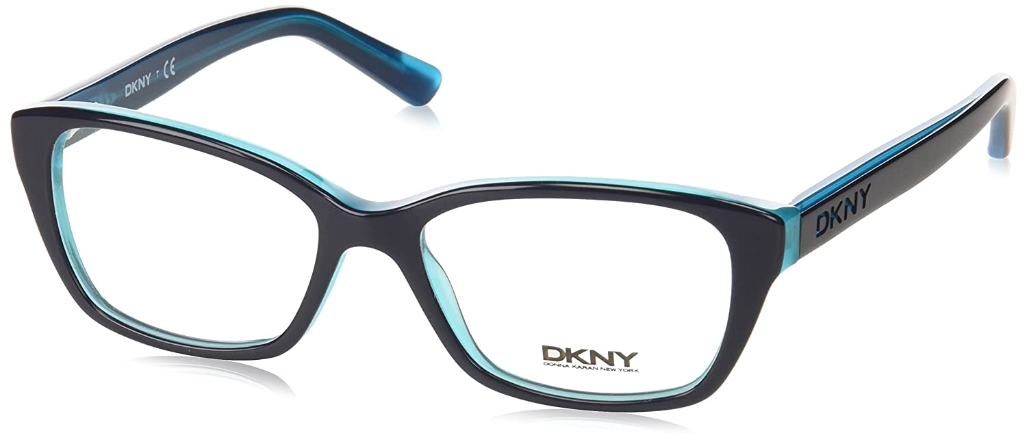 1a22ae3801 Dkny DY 4668 Eyeglasses 3685 Navy Teal 51-16-135  Amazon.co.uk  Shoes   Bags