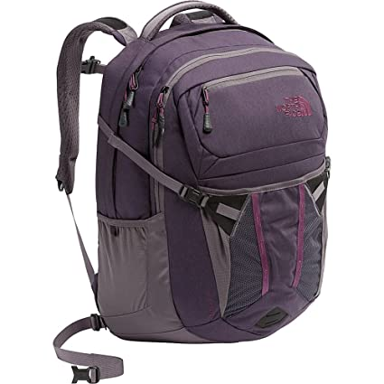fdaa9b5c8 Image Unavailable. Image not available for. Color: The North Face Women's  Recon Backpack - Dark Eggplant Purple Dark Heather & Rabbit Grey -