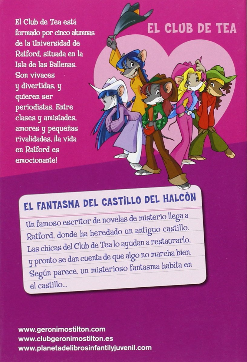 El fantasma del Castillo del Halcón: Tea Stilton: 9788408146490: Amazon.com: Books