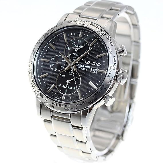Seiko Reloj Hombre Seiko reimport Mundo Tiempo GMT SPL049P1