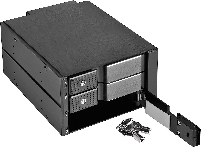 SilverStone Technology RL-FS303B Front Bay Hot-Swapable Hard Drive Enclosure