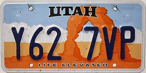 Us Nummernschild Utah Kennzeichen Usa License Plate Auto Schild Küche Haushalt