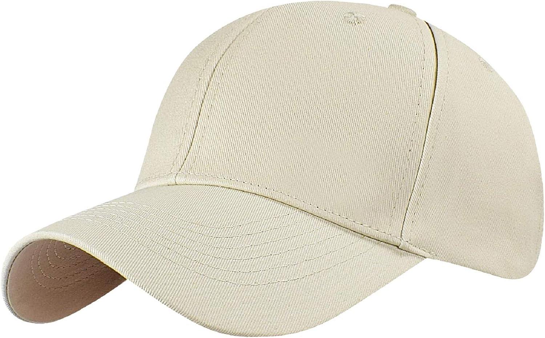 Tuopuda Gorra de béisbol Ajustable de algodón de Estilo Vintage Unisex Marca
