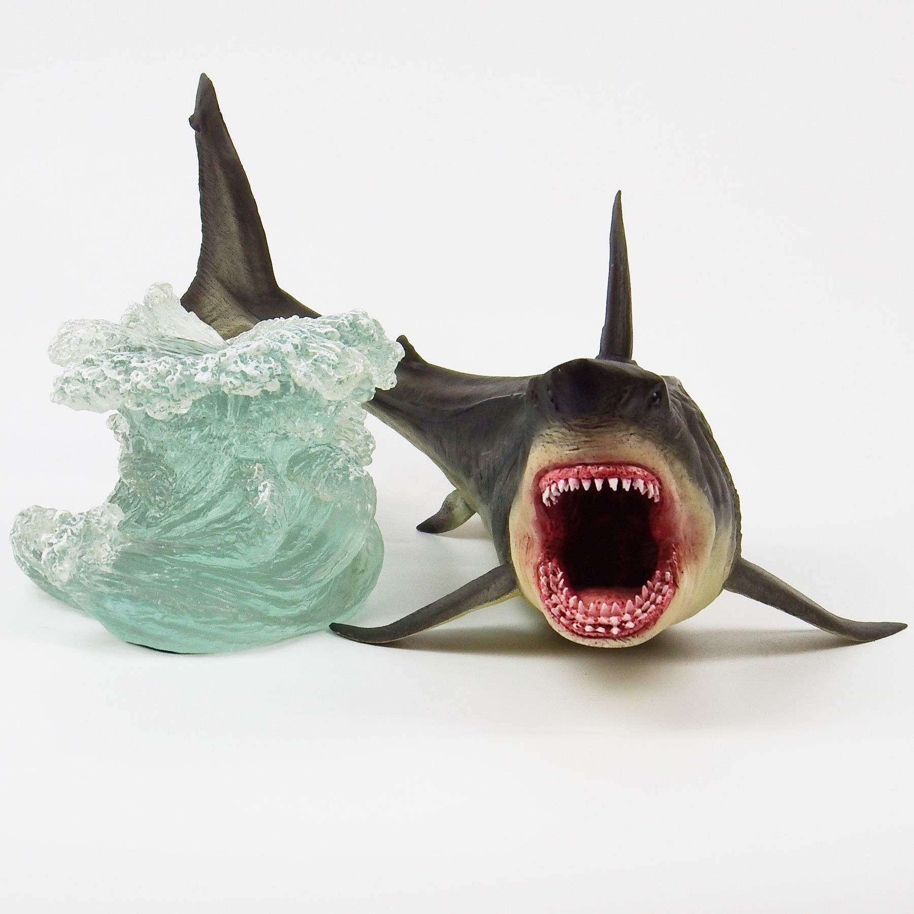 Megalodon Toy Shark Statue Figurine The MEG Paleontology Collectibles Oceanic Nautical Display by GemShark Collectiobles (Image #5)